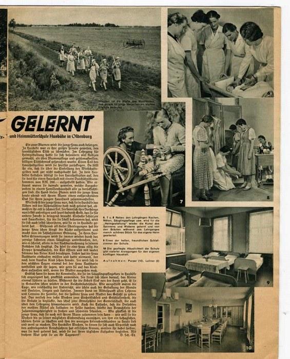 Школа подготовки жён в нацистской Германии (2)