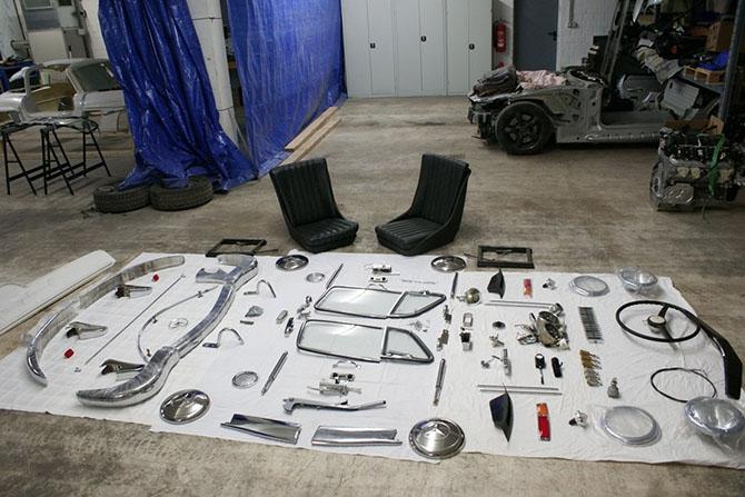 Mercedes 300SL «Gullwing» своими руками (25)