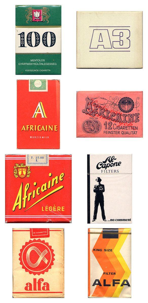 Сигаретные пачки из прошлого, Старые пачки сигарет, подборка фото, коллекция пачек из под сигарет (20)