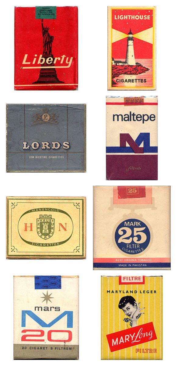 Сигаретные пачки из прошлого, Старые пачки сигарет, подборка фото, коллекция пачек из под сигарет (18)