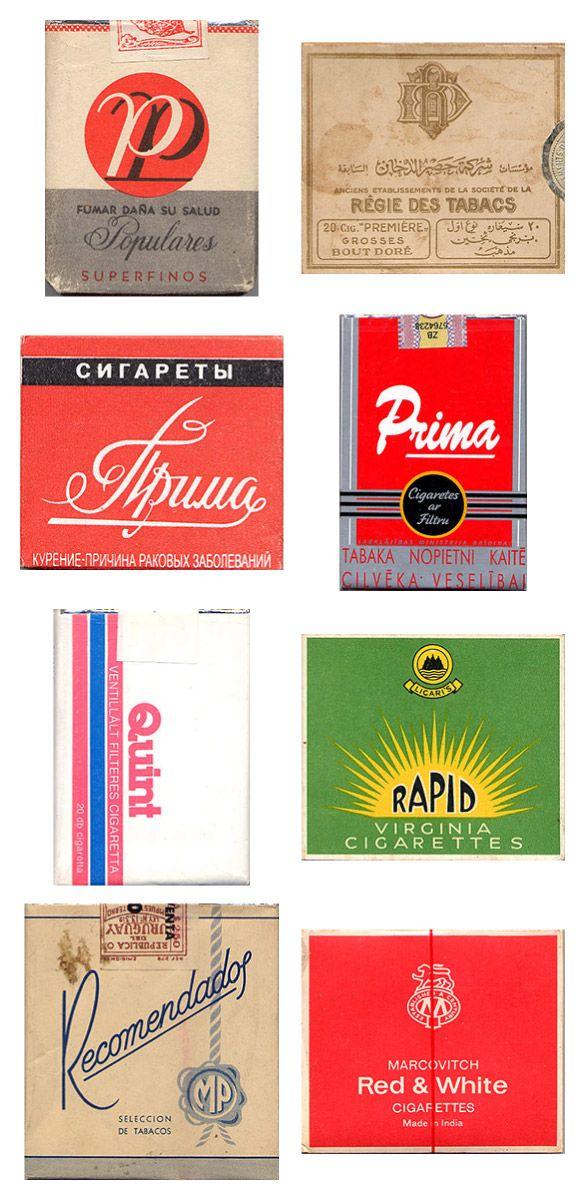Сигаретные пачки из прошлого, Старые пачки сигарет, подборка фото, коллекция пачек из под сигарет (14)