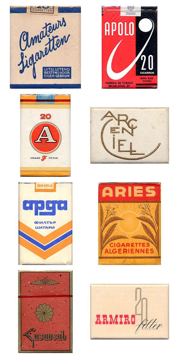 Сигаретные пачки из прошлого, Старые пачки сигарет, подборка фото, коллекция пачек из под сигарет (9)