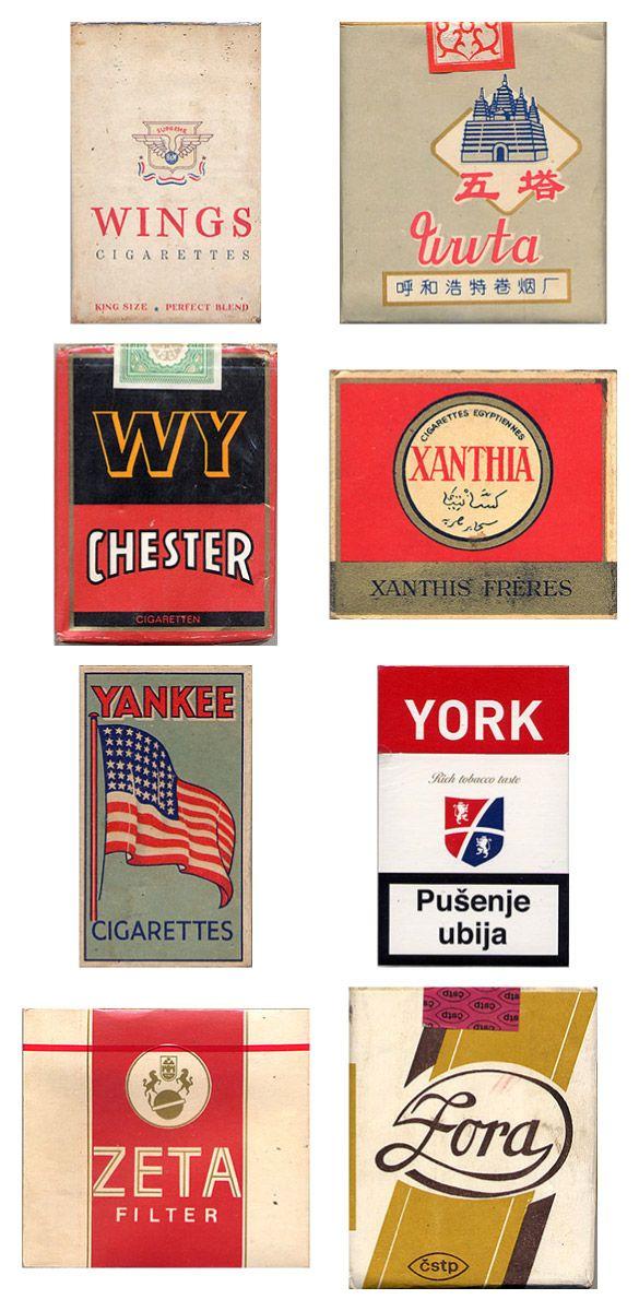 Сигаретные пачки из прошлого, Старые пачки сигарет, подборка фото, коллекция пачек из под сигарет (8)