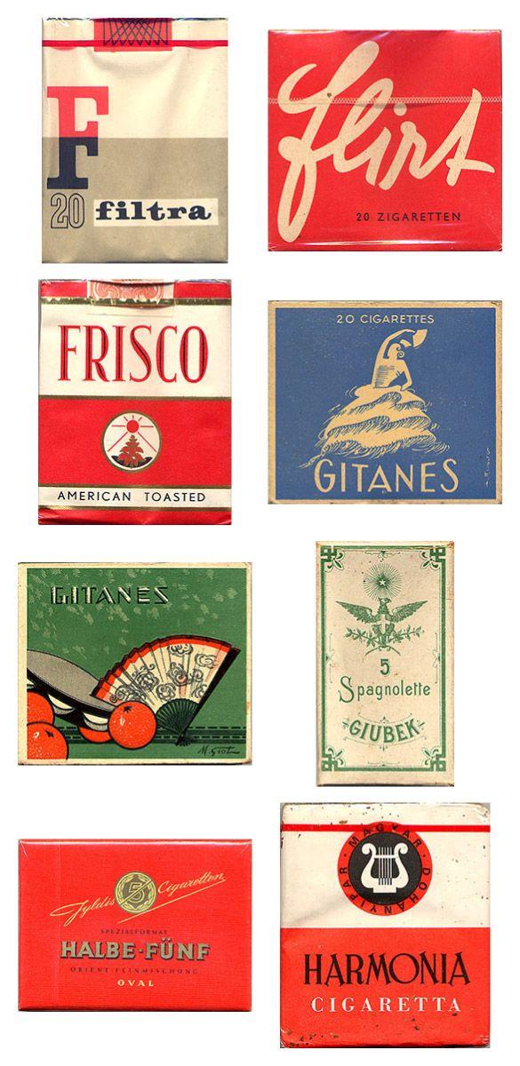 Сигаретные пачки из прошлого, Старые пачки сигарет, подборка фото, коллекция пачек из под сигарет (3)