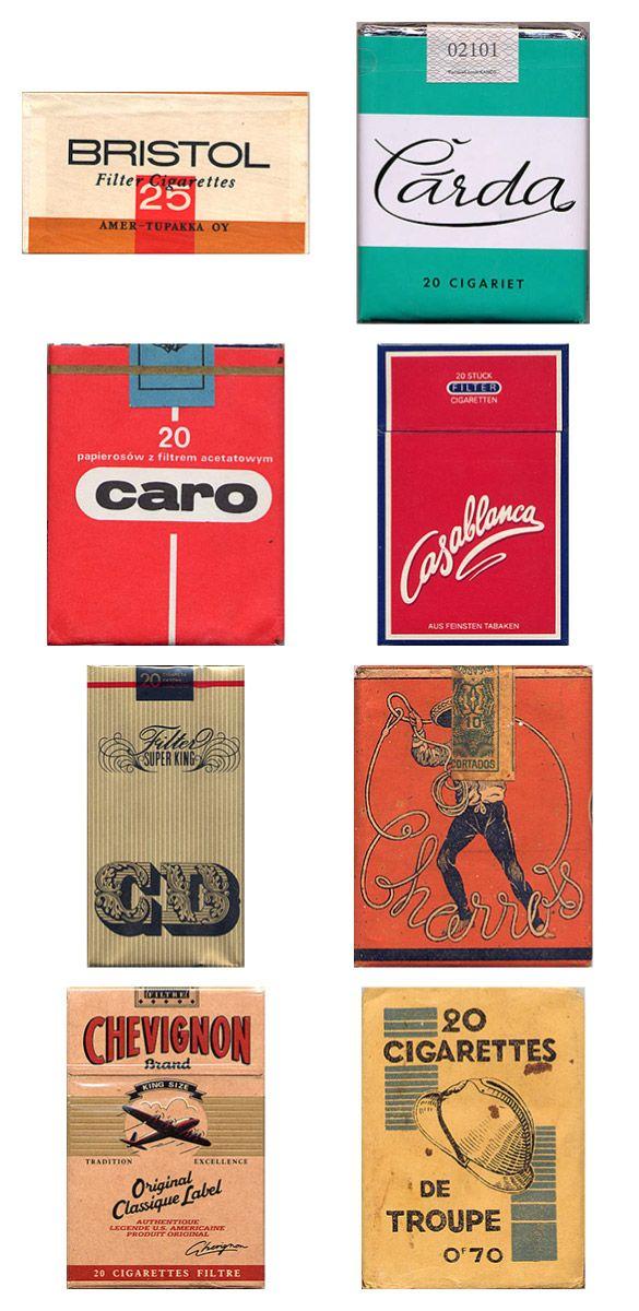 Сигаретные пачки из прошлого, Старые пачки сигарет, подборка фото, коллекция пачек из под сигарет (1)