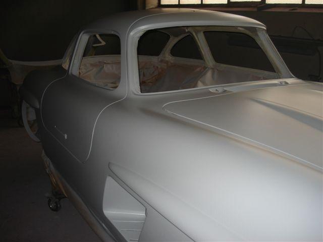 Mercedes 300SL «Gullwing» своими руками (30)