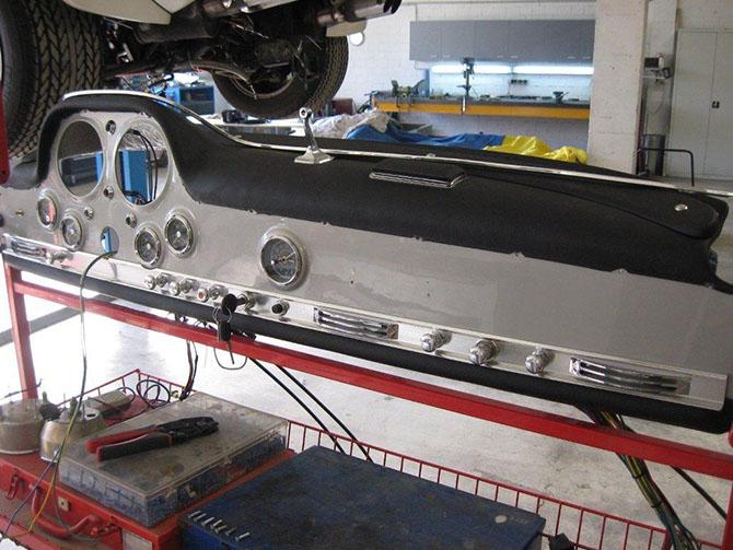 Mercedes 300SL «Gullwing» своими руками (32)