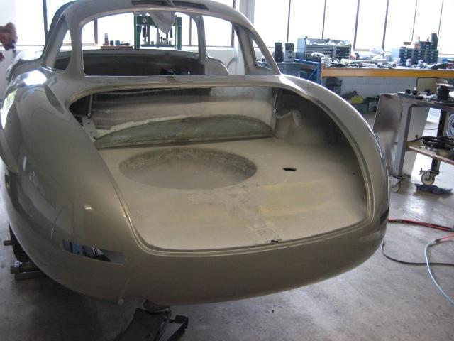 Mercedes 300SL «Gullwing» своими руками (44)