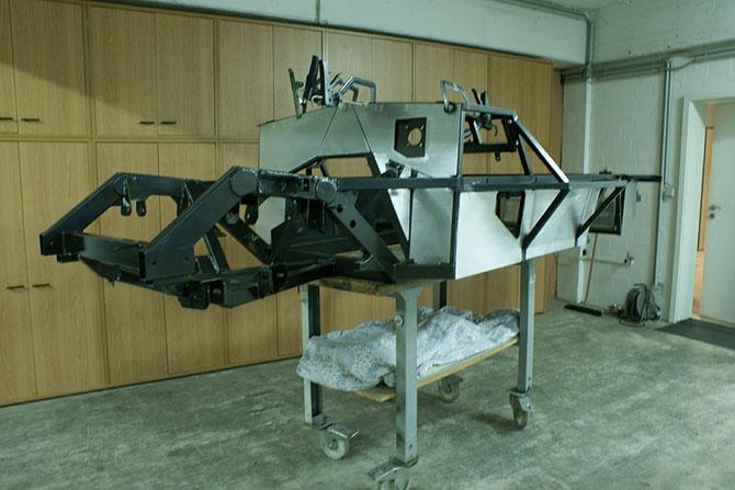 Mercedes 300SL «Gullwing» своими руками (5)