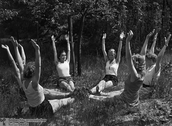 Школа подготовки жён в нацистской Германии (5)