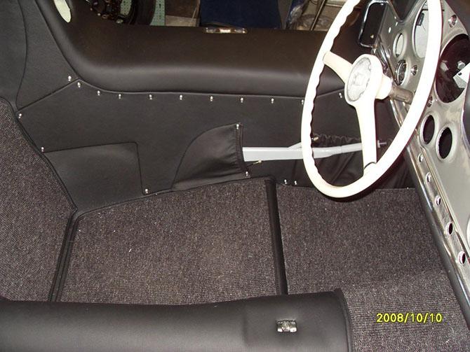 Mercedes 300SL «Gullwing» своими руками (63)