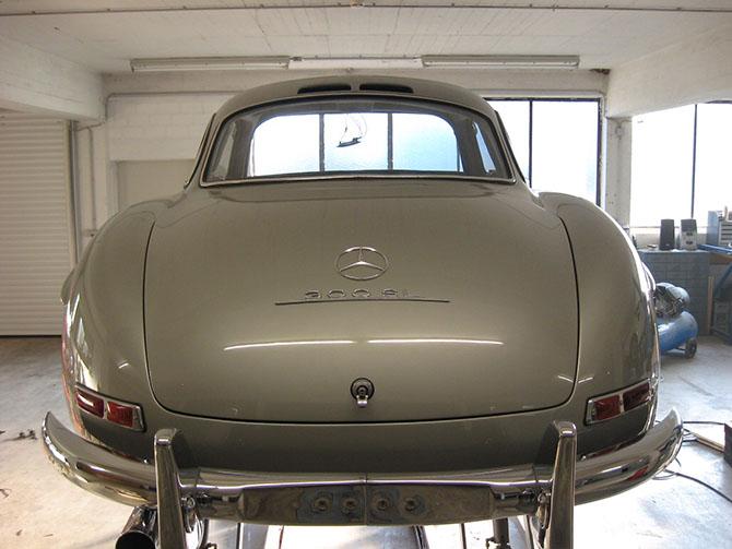 Mercedes 300SL «Gullwing» своими руками (79)