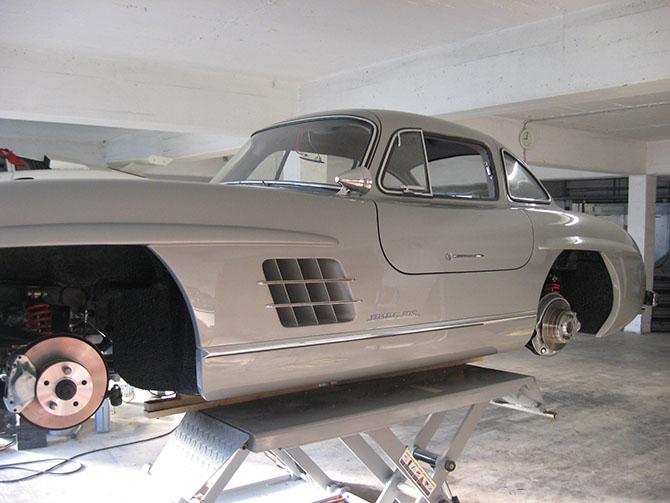 Mercedes 300SL «Gullwing» своими руками (82)