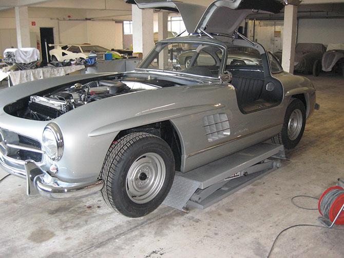Mercedes 300SL «Gullwing» своими руками (84)