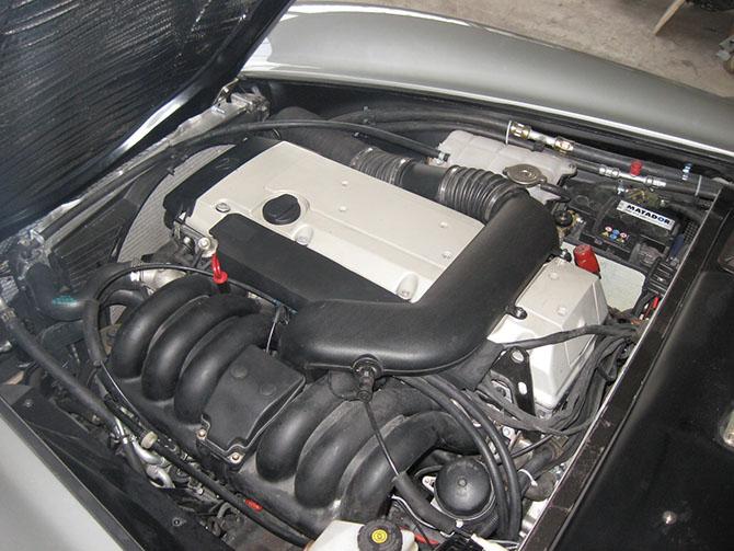 Mercedes 300SL «Gullwing» своими руками (88)