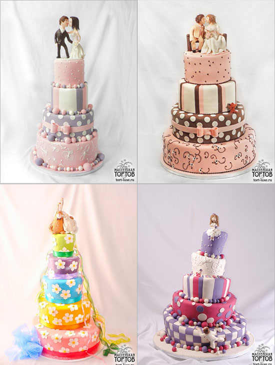 Торты прикольные торты на свадьбу 1