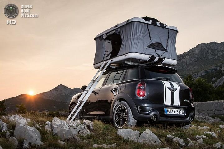 новый MINI Cooper S Countryman ALL4 Camp дом на колесах (1)