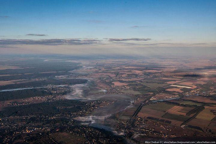 Фото Чернобыля сверху (2)