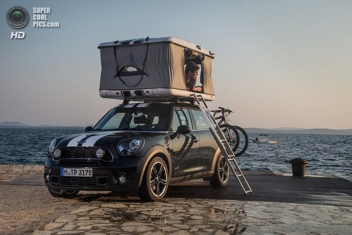 новый MINI Cooper S Countryman ALL4 Camp дом на колесах (3)