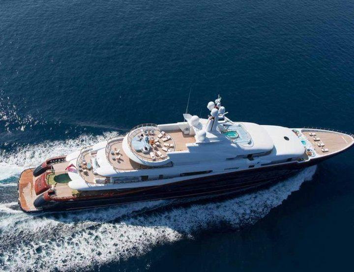 Самые дорогие и роскошные яхты в мире. Красивая яхта (3)