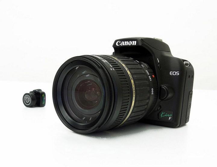 самая маленькая зеркальная фотокамера в мире — MAME-CAM (10)