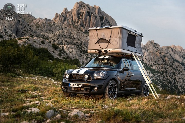 новый MINI Cooper S Countryman ALL4 Camp дом на колесах (4)
