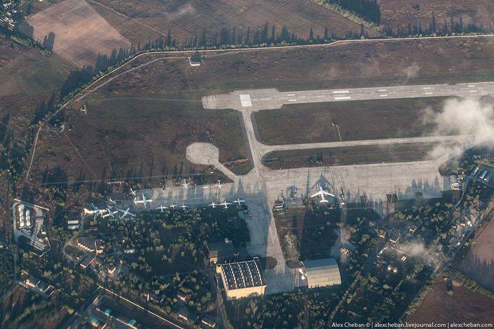 Фото Чернобыля сверху (4)