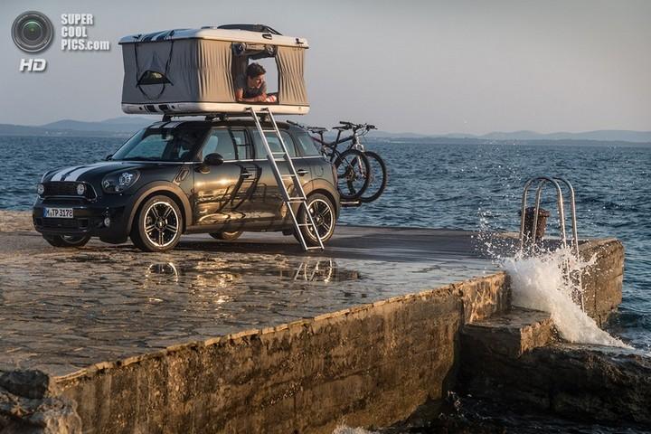 новый MINI Cooper S Countryman ALL4 Camp дом на колесах (5)