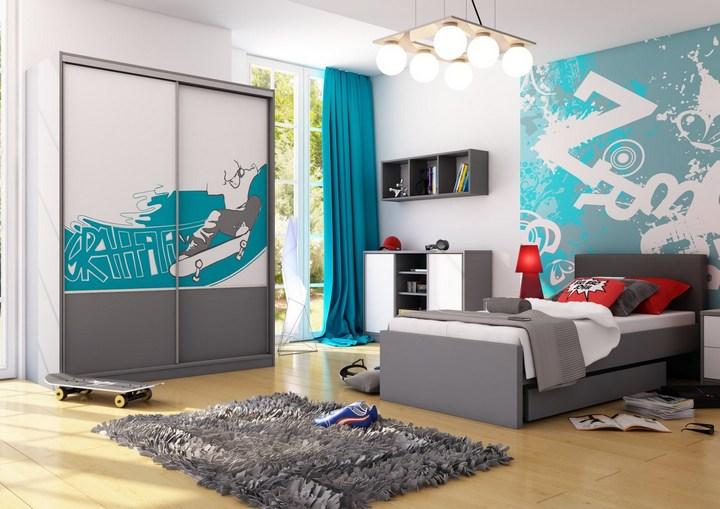 Создание интерьера комнаты для мальчика подростка (3)