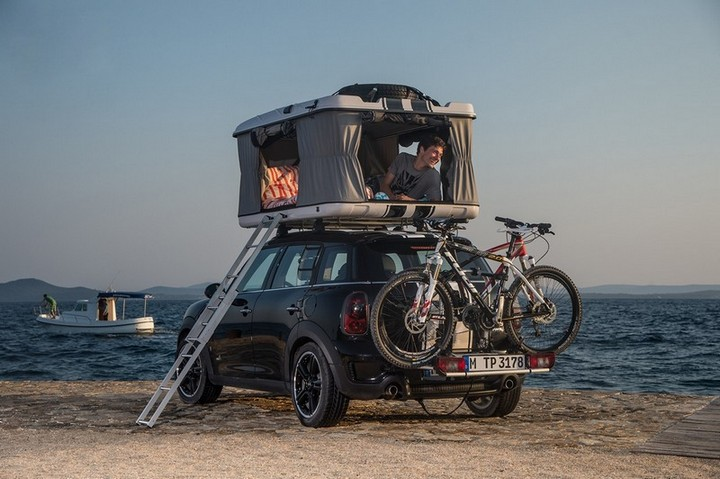 новый MINI Cooper S Countryman ALL4 Camp дом на колесах (6)