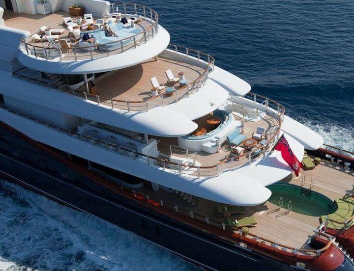 Самые дорогие и роскошные яхты в мире. Красивая яхта (6)