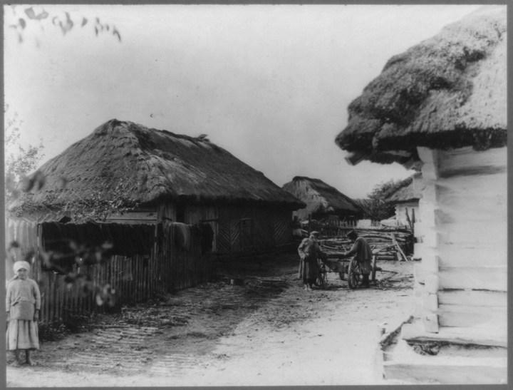 Старые ретро фотографии России, фото русских деревень и крестьян (6)