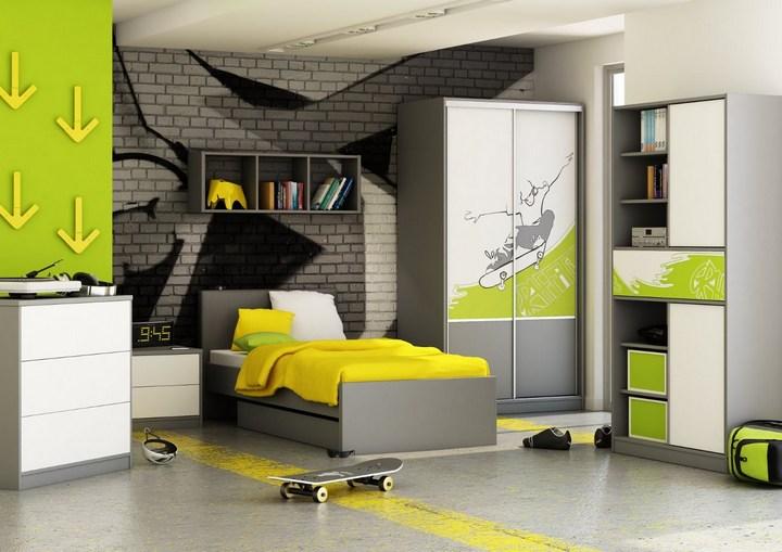 Создание интерьера комнаты для мальчика подростка (2)