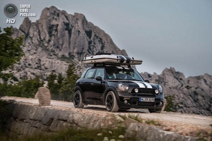 новый MINI Cooper S Countryman ALL4 Camp дом на колесах (7)