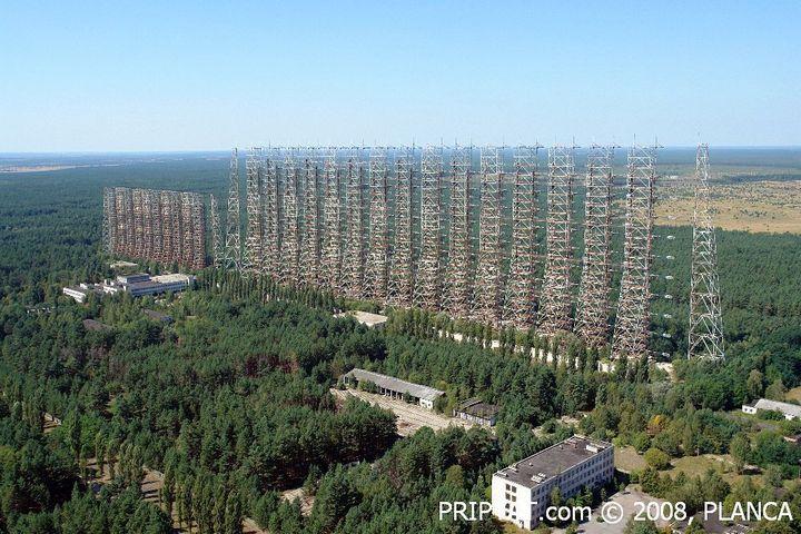 Фото Чернобыля сверху (7)