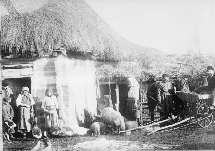 Старые ретро фотографии России, фото русских деревень и крестьян (7)