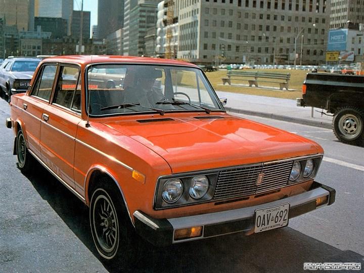 Русские машины на улицах Америки и Канады (7)