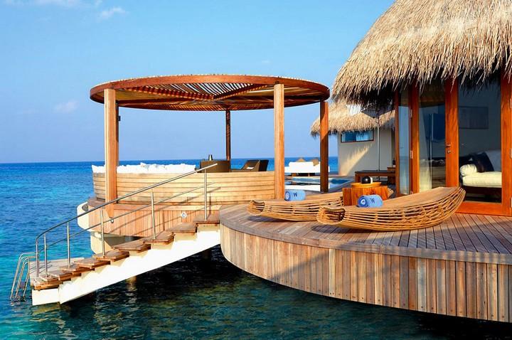 Отель W Retreat & Spa — райский уголок на Мальдивах, фото с Мальдив (8)