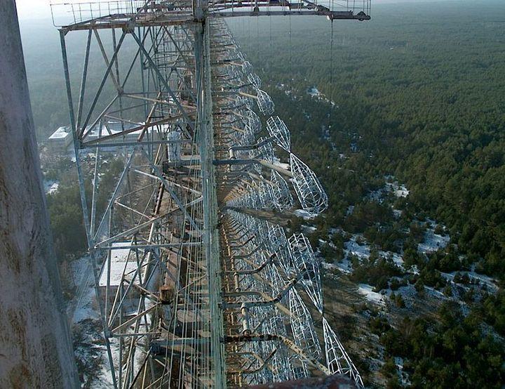 Фото Чернобыля сверху (8)