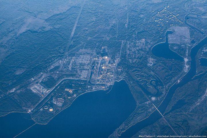 Фото Чернобыля сверху (9)