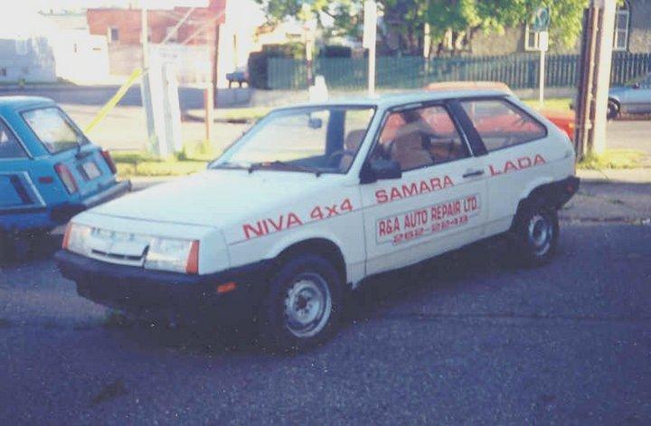 Русские машины на улицах Америки и Канады (9)