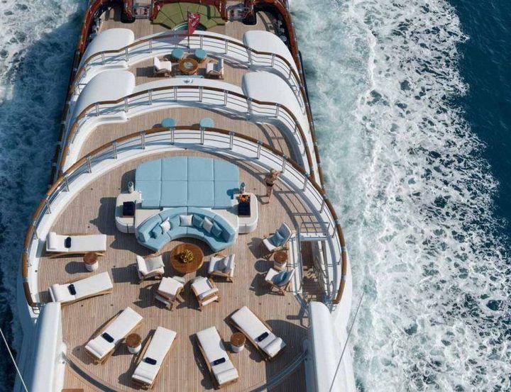 Самые дорогие и роскошные яхты в мире. Красивая яхта (9)