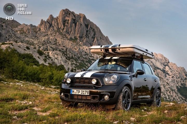 новый MINI Cooper S Countryman ALL4 Camp дом на колесах (10)