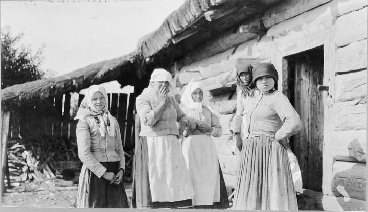Старые ретро фотографии России, фото русских деревень и крестьян (10)