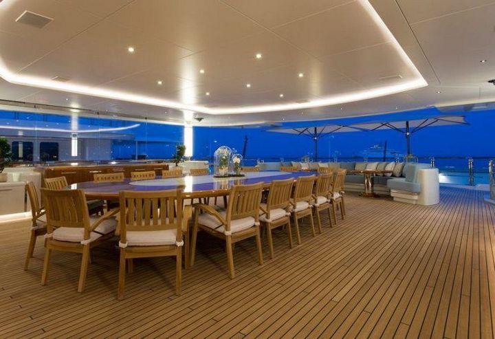 Самые дорогие и роскошные яхты в мире. Красивая яхта (11)