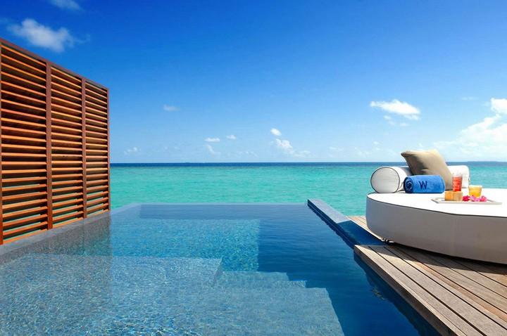 Отель W Retreat & Spa — райский уголок на Мальдивах, фото с Мальдив (11)