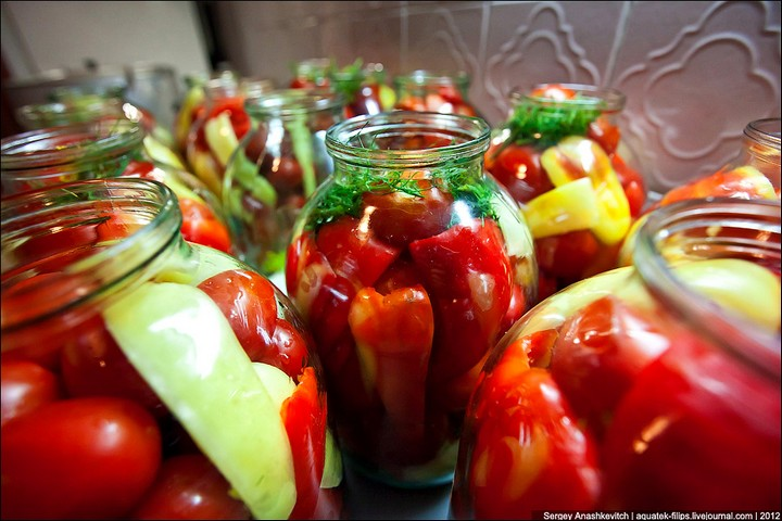 Как засолить помидоры, пошаговая инструкция с фото (12)