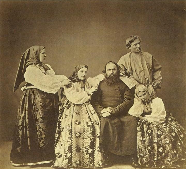Старые ретро фотографии России, фото русских деревень и крестьян (13)
