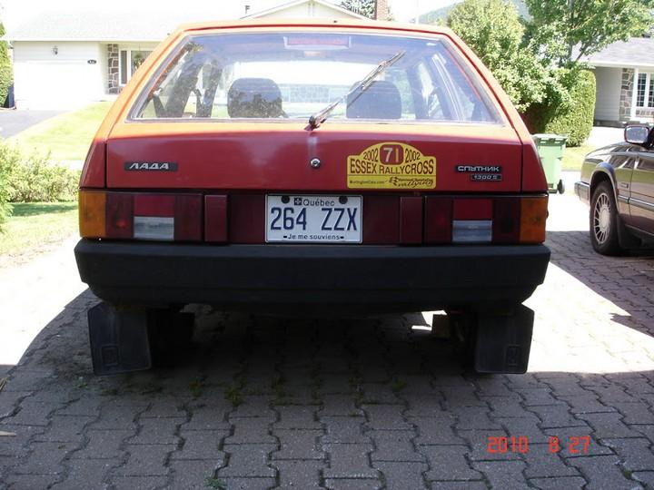Русские машины на улицах Америки и Канады (13)