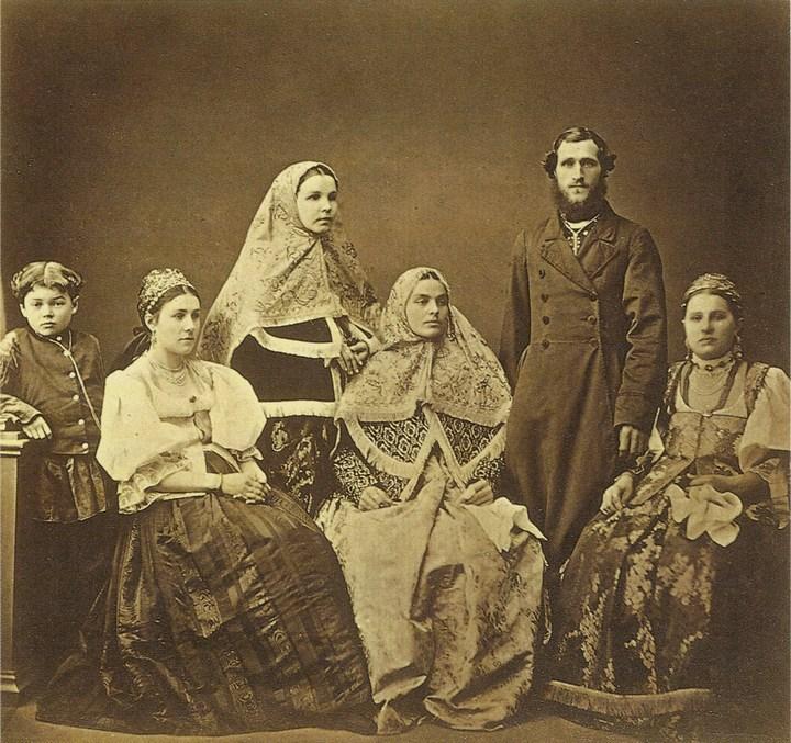 Старые ретро фотографии России, фото русских деревень и крестьян (14)